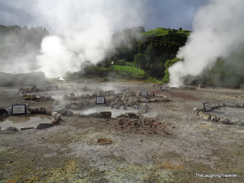 furnas geothermal activity