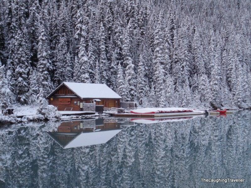 אגם לואיז הרוקיז הקנדיים