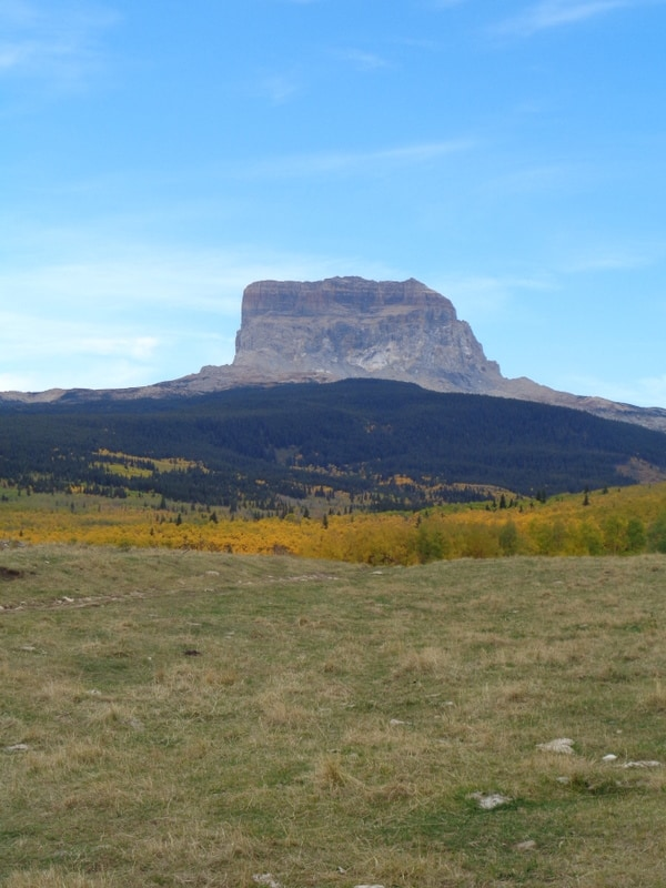 Chief mountain, Montana