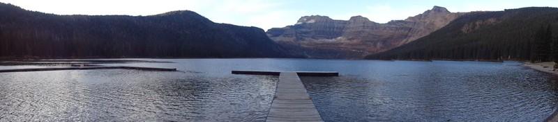 Cameron lake, Waterton NP