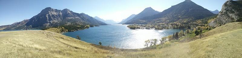 Waterton lake, Waterton NP