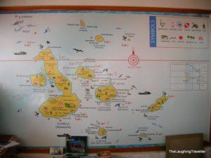 מפה גלפגוס