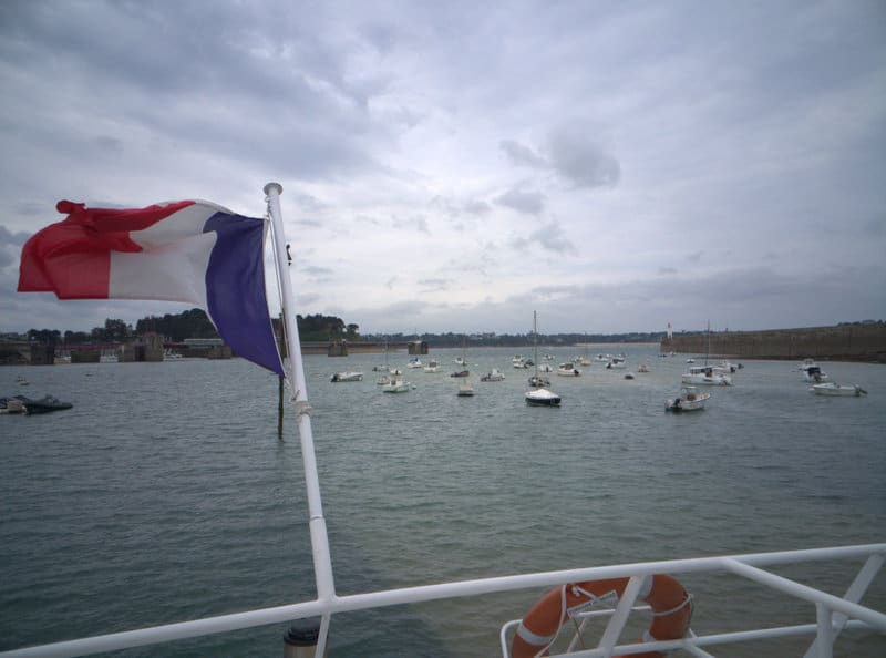 Ferry from St Malo to Dinard
