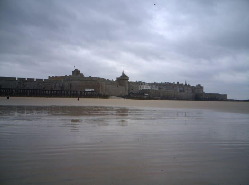 St Malo - low tide