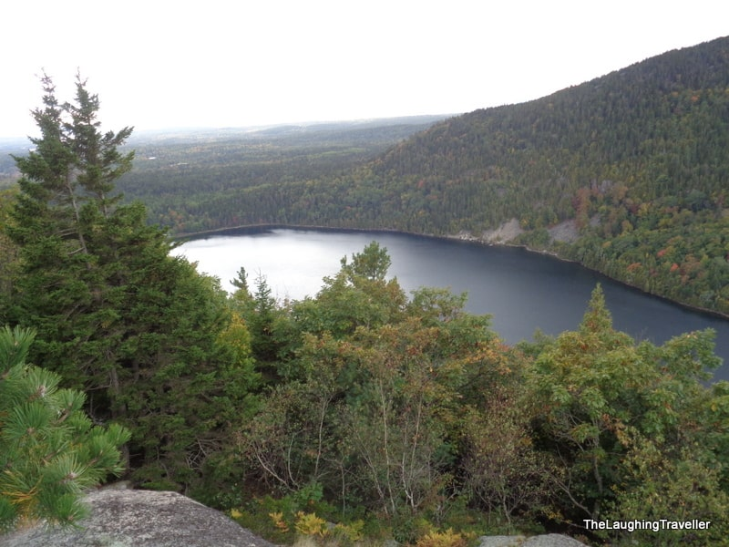 Long pond - view from Beech mountain