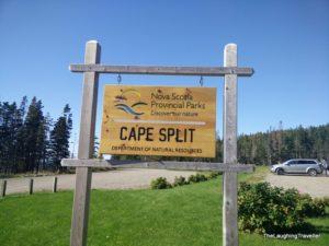Cape Split trailhead