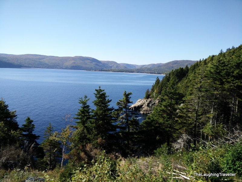 Middle head trail, Cape Breton island, Nova Scotia