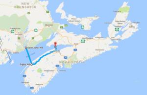 Saint John-Digby-Cape Split