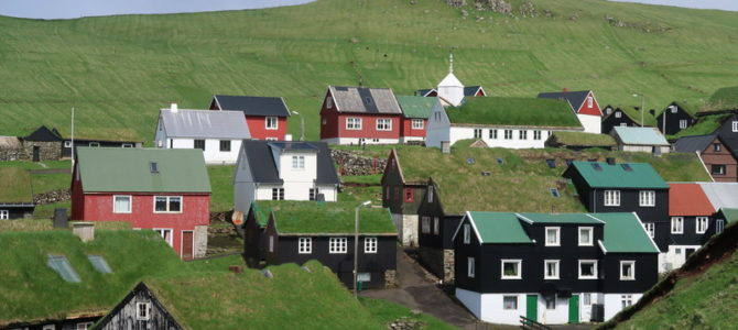 Faroe islands: Visiting Mykines, puffin island