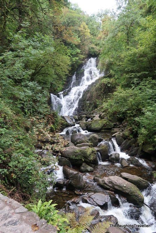Torc falls, Killarney