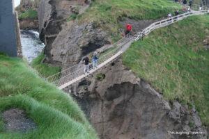 גשר חבלים Carrick-a-Rede