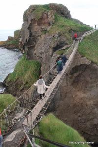 גשר חבלים אירלנד