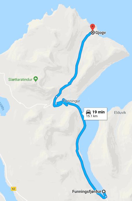 ההר הכי גבוה באיי פארו
