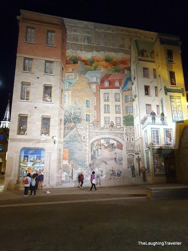 אומנות רחוב קוויבק סיטי