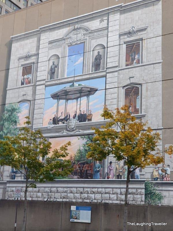 ציורי קיר קוויבק