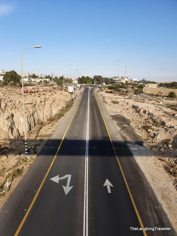 how to get to Mitzpe Ramon