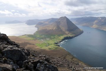 Hiking Cape Enniberg in the Faroe islands