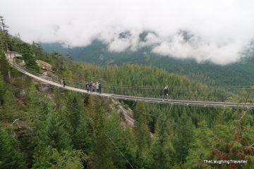 הגשרים התלויים של בריטיש קולומביה